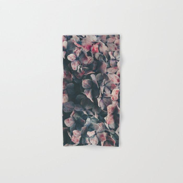 hydrangea - moody blues Hand & Bath Towel