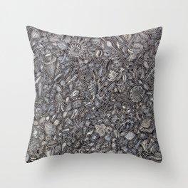 Sea shells Ocean decor Throw Pillow