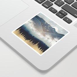 Blue Mountain Mist Sticker