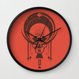 Lucky13 Wall Clock