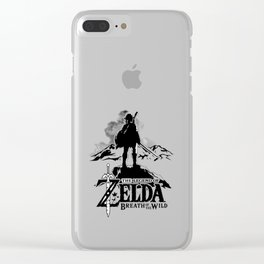 Breath Of The Wild Clear iPhone Case
