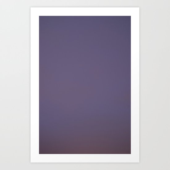 Gradiessence 5 Art Print