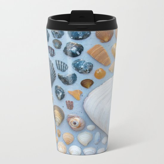 Sally Sells Sea Shells and I bought 'em Metal Travel Mug