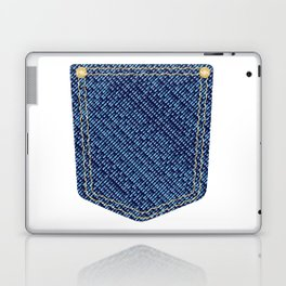 Plain Denim Pocket Laptop & iPad Skin