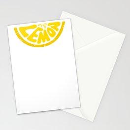Slice of Lemon Stationery Cards