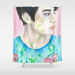 Grow on me Shower Curtain
