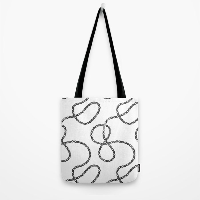 bicycle chain repeat pattern Tote Bag