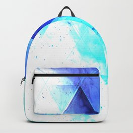 Ice background Backpack