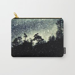 Wintery mystical landscape Carry-All Pouch