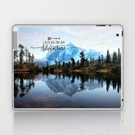 Mt Shuksan-adventure Laptop & iPad Skin