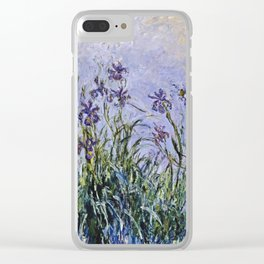 Claude Monet - Iris Jaune Clear iPhone Case