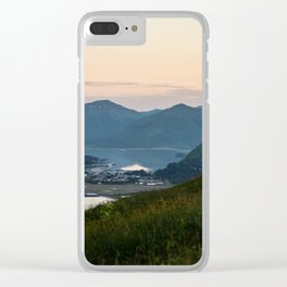 Island Mountaintop Clear iPhone Case