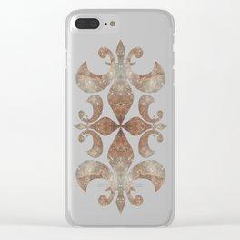 Space Mandala no23 Clear iPhone Case