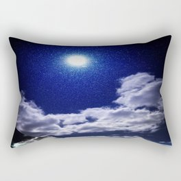 Signs in the Sky Collection I- in its original deep blue Rectangular Pillow