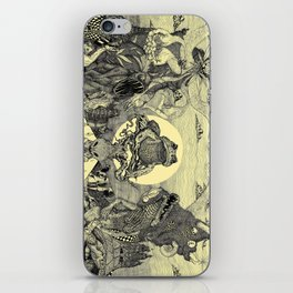 Toad Licking  iPhone Skin