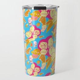 Electric Banana Monkey Travel Mug