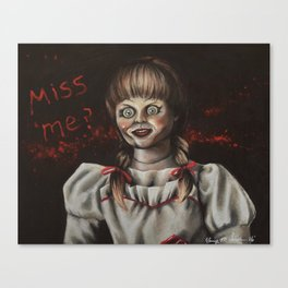 Annabelle | Drawing Canvas Print