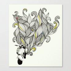 Scoot Canvas Print