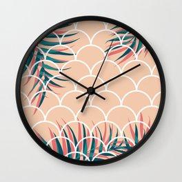 Tropical Window #society6 #decor #buyart Wall Clock