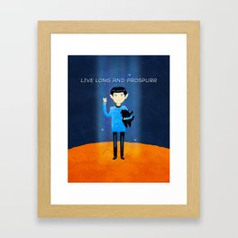 Live Long And Prospurr Framed Art Print