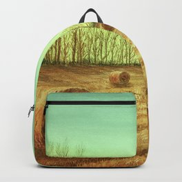 Autumn Rolls Along Backpack