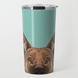 Skylar - German Shepherd gifts for dog people dog lover gifts german shepherd owners perfect gifts Travel Mug