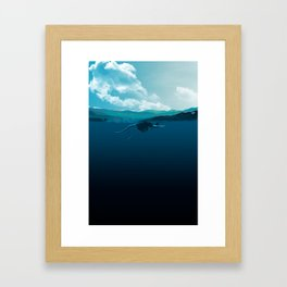 Falling Under Framed Art Print