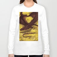 smaug Long Sleeve T-shirts featuring Smaug by toibi