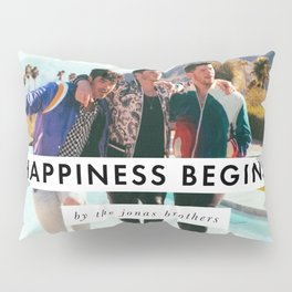 jonas brothers happiness begins walk tour 2020 ngamein Pillow Sham