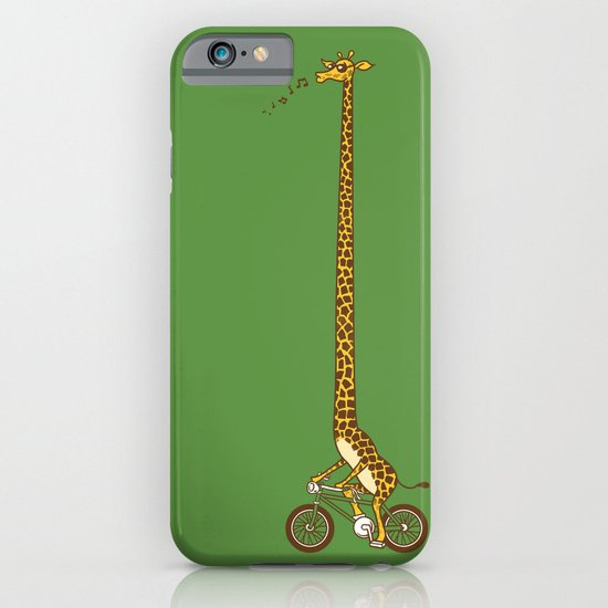 Long Bike Ride iPhone & iPod Case