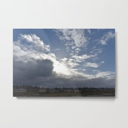 In the sky at the Oregon Coast Metal Print