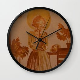 Holy Girls #1 Wall Clock