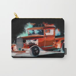 Red Street Rod By Annie Zeno  Carry-All Pouch