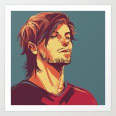 Tommo Art Print