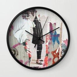 Berlin Posters-Sensible Heels Wall Clock
