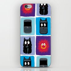 Don't Let Your BlackBerry Turn into Exploding Cats.  iPhone & iPod Skin