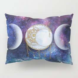 Celestial Ocean Moon Phases | Stay Wild Pillow Sham