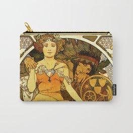 """Alphonse Mucha """"World's Fair, St. Louis, Missouri"""", 1904 Carry-All Pouch"""