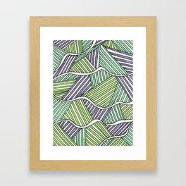 fibers (4) Framed Art Print