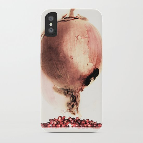 Onion story iPhone Case