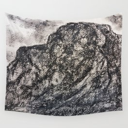 Grey Moutain by Gerlinde Streit Wall Tapestry