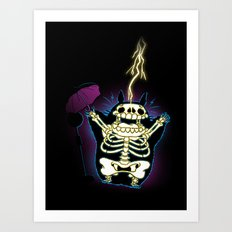 My Shocking Neighbour Art Print