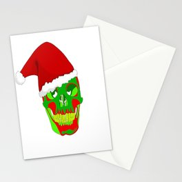 The Death Of Christmas - Santa's Skull  Stationery Cards