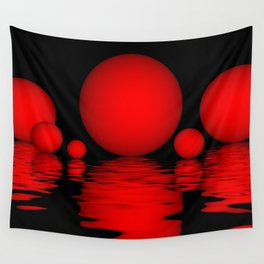 spheres and reflections -102- Wall Tapestry
