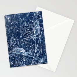 Pisces sky star map Stationery Cards