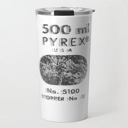 Laboratory Glass Graphic Travel Mug