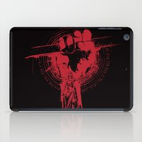 daredevil iPad Cases featuring daredevil and braille quote: It's not how you hit the Mat it's how you get back up by Ryan Huddle House of H