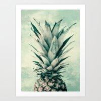 Pineaple 9a Art Print