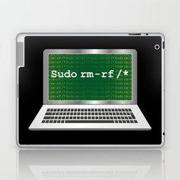 Sudo rm | Linux Coding Terminal Laptop & iPad Skin