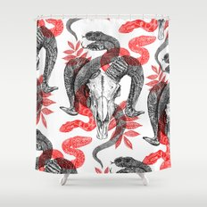 Old Ghosts Shower Curtain